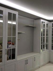 Мебельная стенка для гостиной и спальни