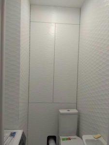 Мебель для ванной - короб за унитазом
