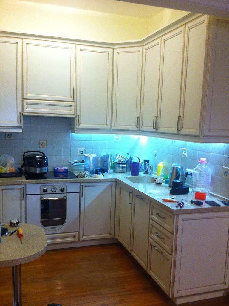 Угловая кухня на заказ по индивидуальным размерам