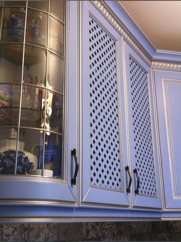 Шкафы для посуды под заказ